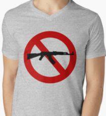 Gun Control Men's V-Neck T-Shirt