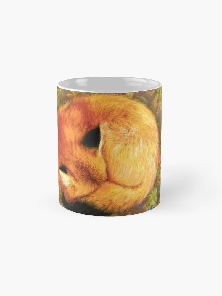 Alternate view of The Cozy Fox Mug