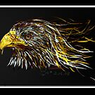 fired eagle by Beo Lo