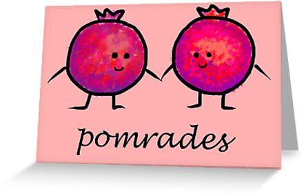 Pomrades Adorable Pomegranate Comrades by pommunist