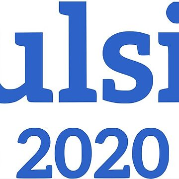 Tulsi Gabbard for President of the United States 2020 by 8bitman