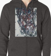 The Face of Evil Zipped Hoodie