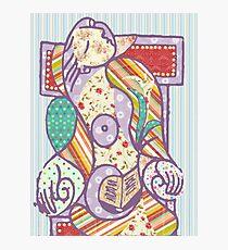 Scrapbook Picasso Photographic Print