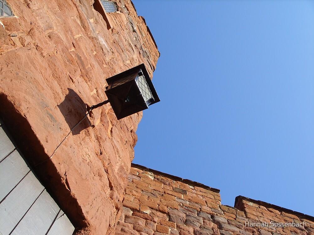 Underneath the castle walls by Hannah Sussenbach