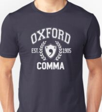 Camiseta ajustada Coma de Oxford