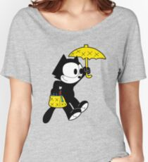 The Magical Black Cat  Women's Relaxed Fit T-Shirt
