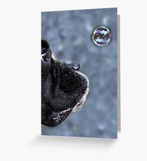 It's A Bubble -Boxer Dogs Series- Greeting Card