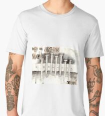 Nails in Cement Men's Premium T-Shirt