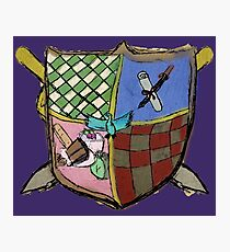 Kooky Coat of Arms Photographic Print