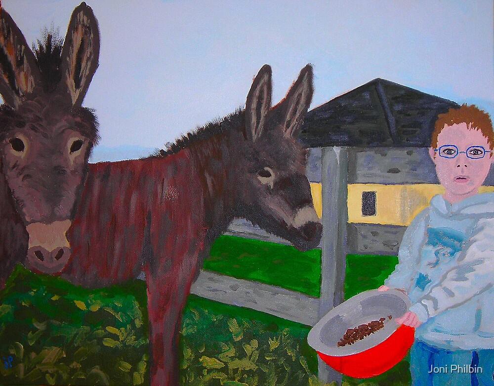 It's feedin' time by Joni Philbin