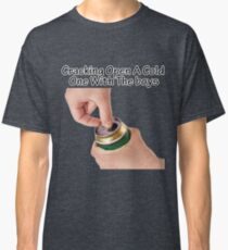 Cracking Open A Cold One With The Boys Black Classic T-Shirt