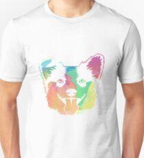 Colorful Welsh Corgi Dog Shirt  Unisex T-Shirt
