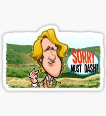 Sorry Must Dash Sticker