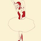 03. Red Ballerina  by missamylee