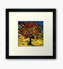 Lámina enmarcada Van Gogh Mulberry Tree