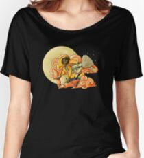 Orange Moon Women's Relaxed Fit T-Shirt