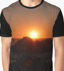 Pelicans at sunset Graphic T-Shirt