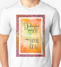 dishonour on your cow - babyfox T-Shirt