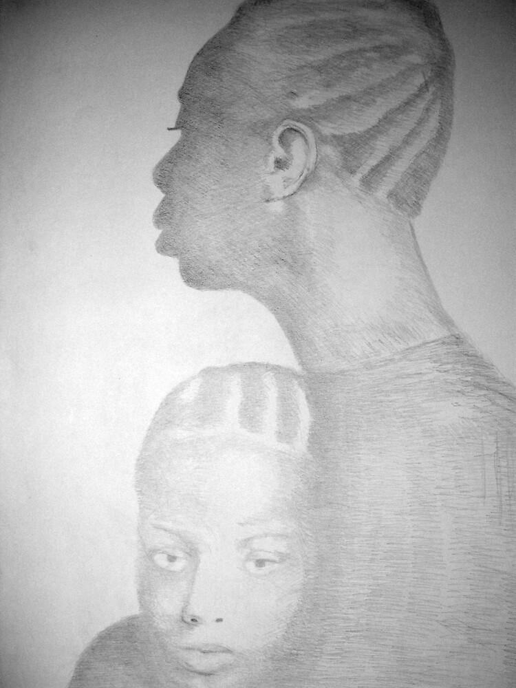 Togetherness - Nina & Simone by Charles Ezra Ferrell