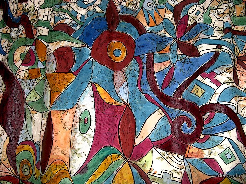 Abstract 1 by delfinada