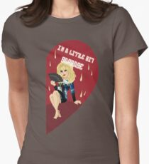 I'm a Little Bit Garbage Women's Fitted T-Shirt