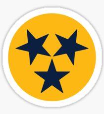 Nashville Tri-Star Sticker