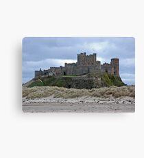 Bamburgh castle Northumberland Canvas Print
