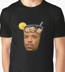 Just Some Ice Tea and Ice Cubes Tshirt design Graphic T-Shirt