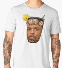 Just Some Ice Tea and Ice Cubes Tshirt design Men's Premium T-Shirt
