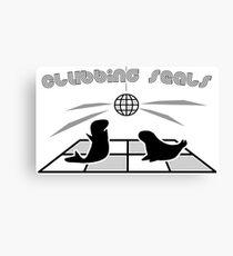 Clubbing Seals Canvas Print