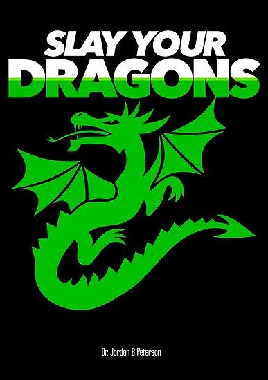 Töte deine Drachen (Green2) von JennK777