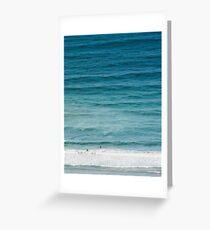 Ocean Rhythm Greeting Card