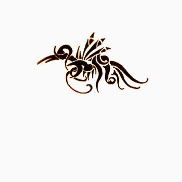 Aquatic Dragon by GaeaElf