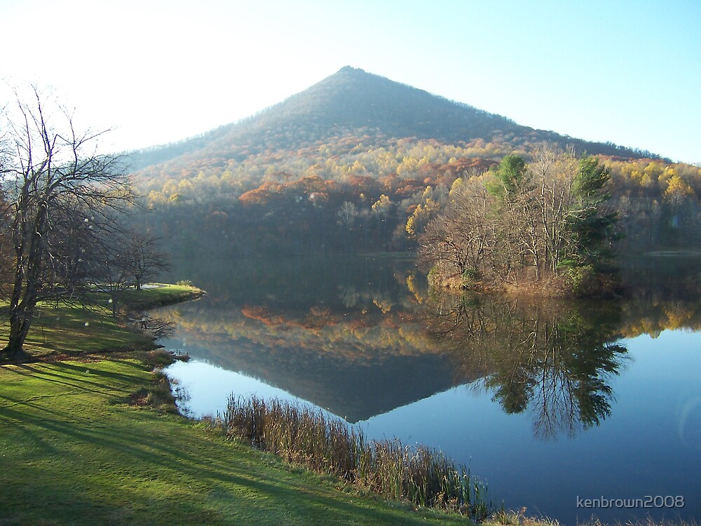 Sharp Top Mountain - Peaks of Otter, VA by kenbrown2008