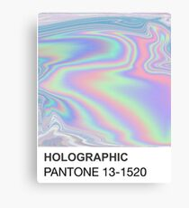 Holographic Pantone Canvas Print