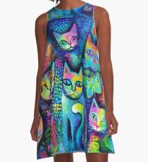 Magicats A-Line Dress