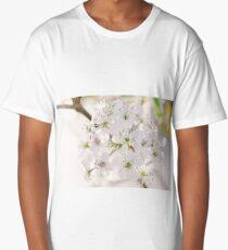 Pear Blossoms 5 Long T-Shirt