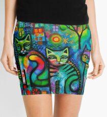 Metropolitan cats Mini Skirt