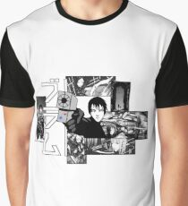 Blame! Collage Graphic T-Shirt
