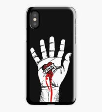 Heart Punk Hand iPhone Case/Skin