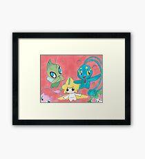 Pokemon Cuties Framed Print