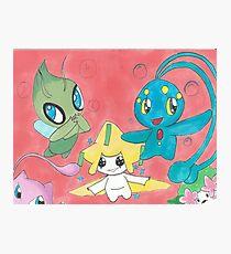 Pokemon Cuties Photographic Print