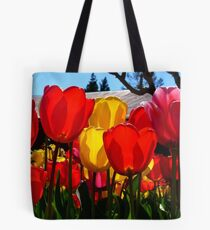 Natures Cups Are Always Full...Tulips - NZ Tote Bag