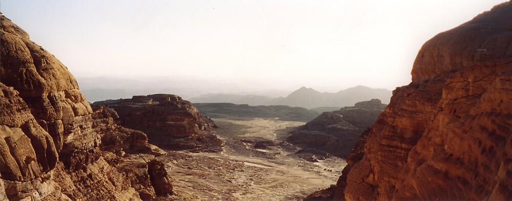 The Sinai Desert by Graham Ettridge