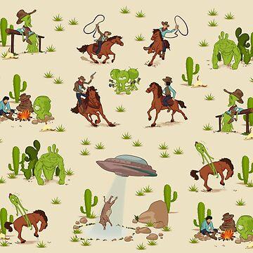 COWBOYS & ALIENS by Drawbauchery