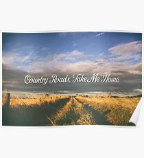 Country Roads - John Denver Tribute Poster