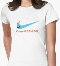 Mr Meeseeks Oh Can Do Womens Fitted T-Shirt