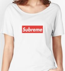 Subreme Supreme Women's Relaxed Fit T-Shirt