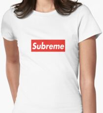 Subreme Supreme Women's Fitted T-Shirt