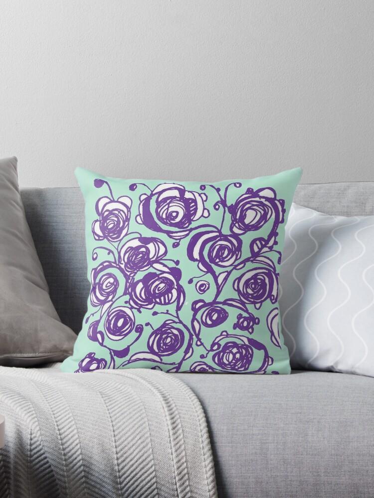 purple Rosey of Cairo by Katapillar